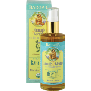 Badger All-Natural & Organic Baby Oil