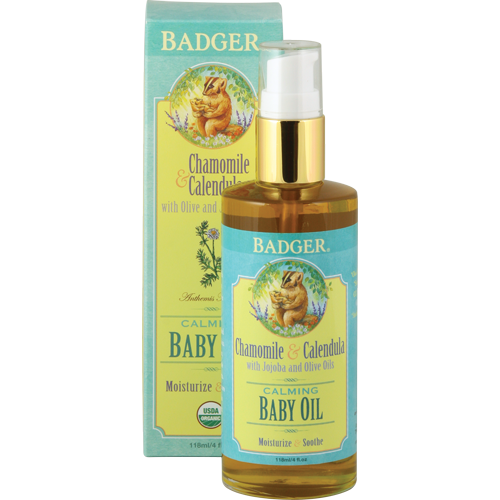 Badger All-Natural & Organic Baby Oil