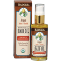 Badger Certified Organic Argan Hair Oil