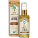 Badger Certified Organic Jojoba Hair Oil