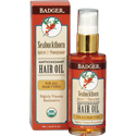 Badger Certified Organic Seabuckthorn Hair Oil